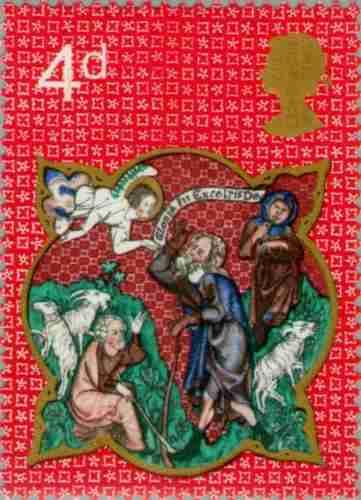 Timbre: Image biblique - Noël