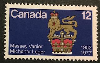 Timbre: Massey Vanier Michener Léger