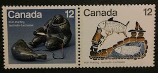 Timbre: Les Inuits - La Chasse