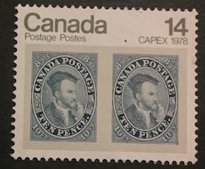 Timbre: Capex 1978 Jacques Cartier