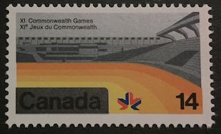 Timbre: Jeux du Commonwealth, Edmonton