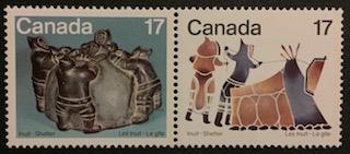 Timbre: Les Inuits - Le gîte et la communauté