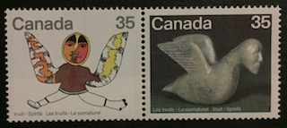 Timbre: Les Inuits - Le surnaturel