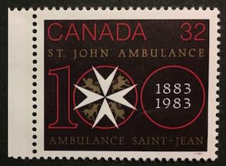 Timbre: Ambulance Saint-Jean