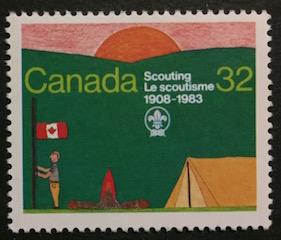 Timbre: Le scoutisme