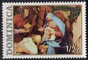 Timbre: Scène de la Nativité