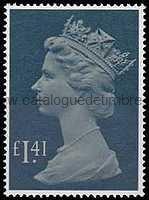Timbre:  Elisabeth II - grand format