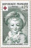 Timbre: 1367  Enfant pierrot