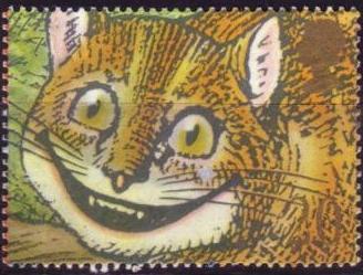Timbre: Sourires : le chat de Chester