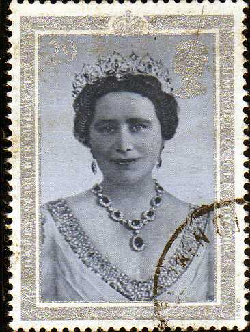 Timbre: La reine Elizabeth