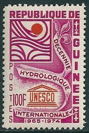 Timbre: Décennie hydrologique internationale