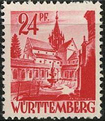 Timbre: Couvent de Bebenhausen