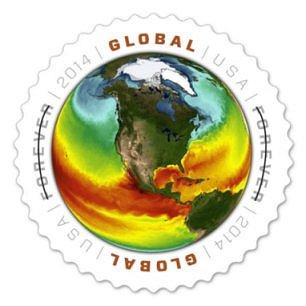 Timbre: Rechauffement climatique