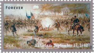 Timbre: Civil War-Battle of Antietam