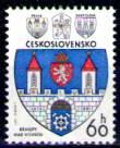 Timbre: Armoiries ville Kralupy nad Vltavou