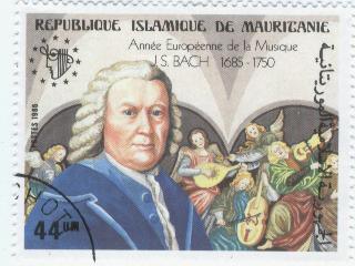 Timbre: Jean-Sébastien Bach
