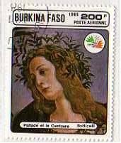 Timbre: Pallade et le Centaure - Botticelli