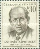 Timbre: Antonin Zapotocky °