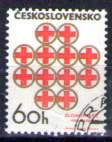 Timbre: 50 ans Croix-Rouge nationale °