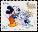 Timbre: Mickey et Beep Beep