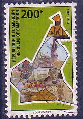 timbre: Aspect du Cameroun