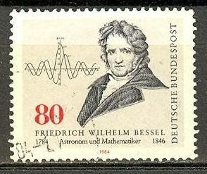 timbre: Wilhelm Bessel