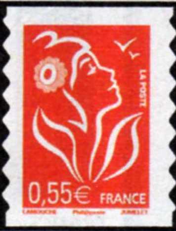 timbre: Marianne de Lamouche  (Adhésif)