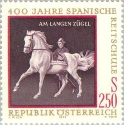 timbre: Haute école d'équitation espagnole de Vienne
