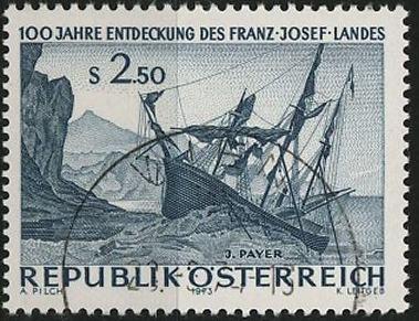 timbre: Découverte de la terre François-Joseph