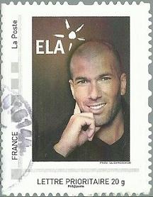 Timbre: Collector - Zinédine Zidane