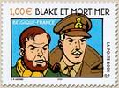 Timbre: Blake et Mortimer