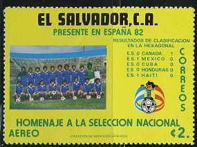 Timbre: Espana 82 série
