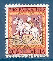 Timbre: Pro Patria: Roi Mage
