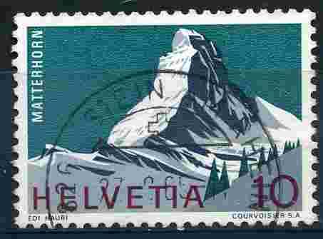 Timbre: Alpes suisses: Le Cervin
