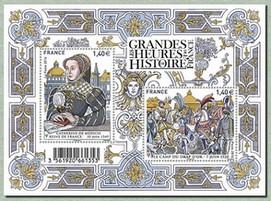 Timbre: Grandes heures de l'histoire de France