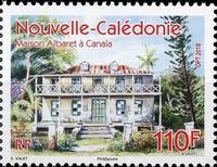 Timbre: Maison Albaret à Canala