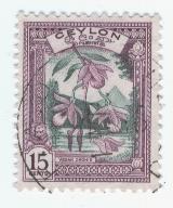 Timbre: Orchidée vesak
