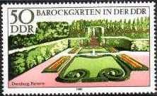 Timbre: Jardins de style baroque