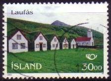 Timbre: Village de Laufès
