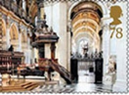 Timbre: Interieur Cathedrale