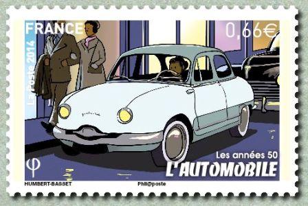 Timbre: L'automobile ADH