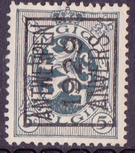 Timbre: Preo ANTWERPEN 1929 ANVERS (N°279) A (gauche)
