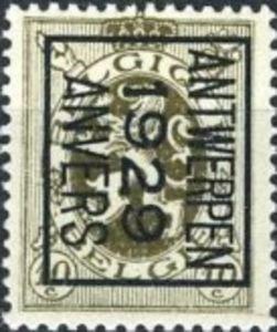Timbre: Preo ANTWERPEN 1929 ANVERS (N°280) B (droite)