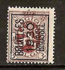 Timbre: Preo BRUSSEL 1930 BRUXELLES (N°278) A (gauche)