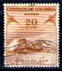 timbre: Monts Ruiz à Manizalès