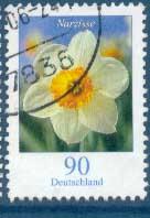 Timbre: (11 EXP) Narcisse (dentelé)