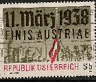 Timbre: Cinquantenaire de l'Anschluss