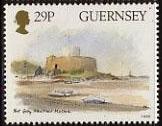 Timbre: Musée maritime de Fort Grey