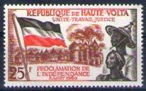 Timbre: Proclamation de l'indépendance