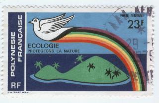 Timbre: écologie: protection de la nature SUR FDC